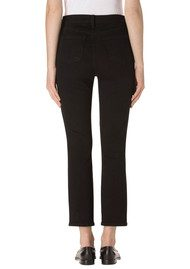 J Brand Ruby High Rise Crop Jeans - Shadow Black