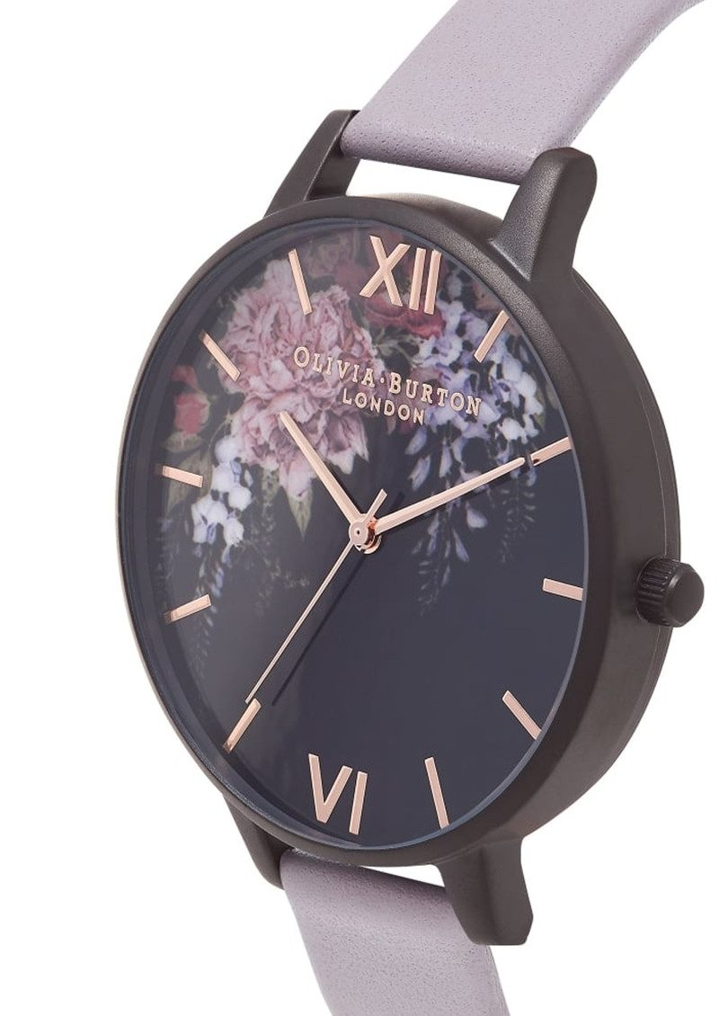 Olivia Burton After Dark Watch - Grey Lilac & IP Black main image