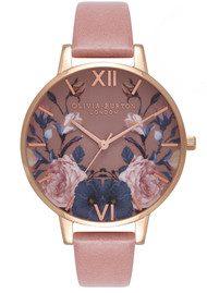 Olivia Burton Enchanted Garden Watch - Rose & Rose Gold
