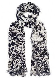 Lily and Lionel Verity Silk Scarf - Monochrome