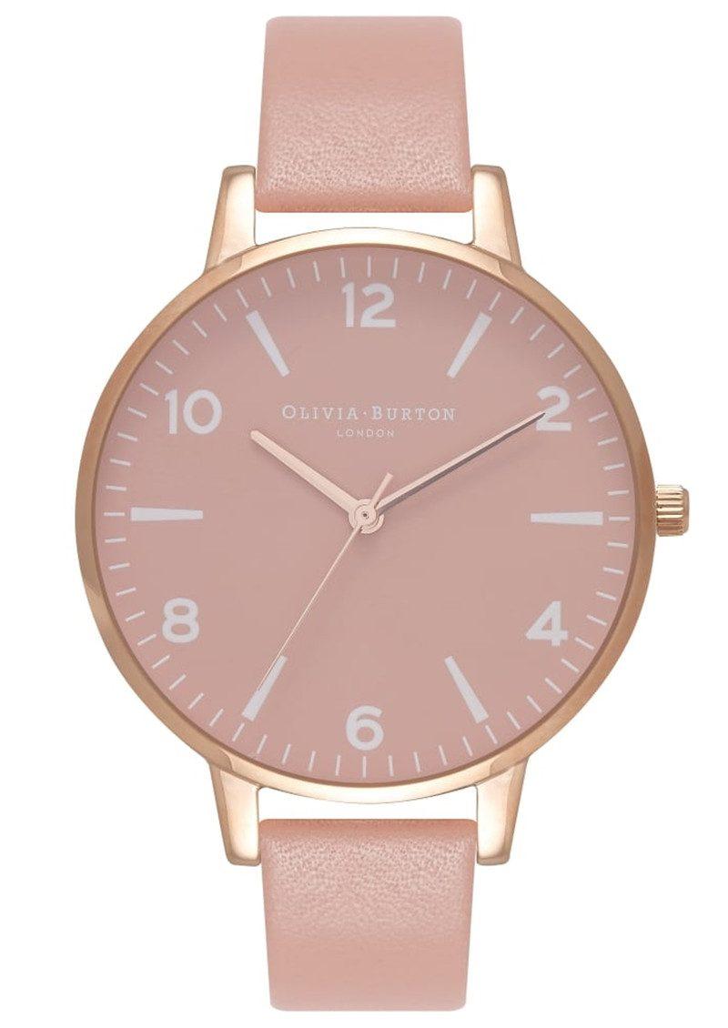 Olivia Burton Modern Vintage Rose Petal Dial Watch - Dusty Pink & Rose Gold main image