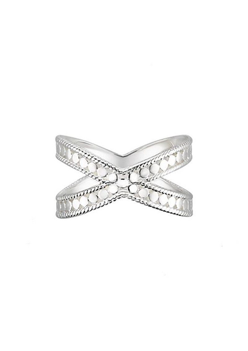 ANNA BECK Cross Ring - Silver main image