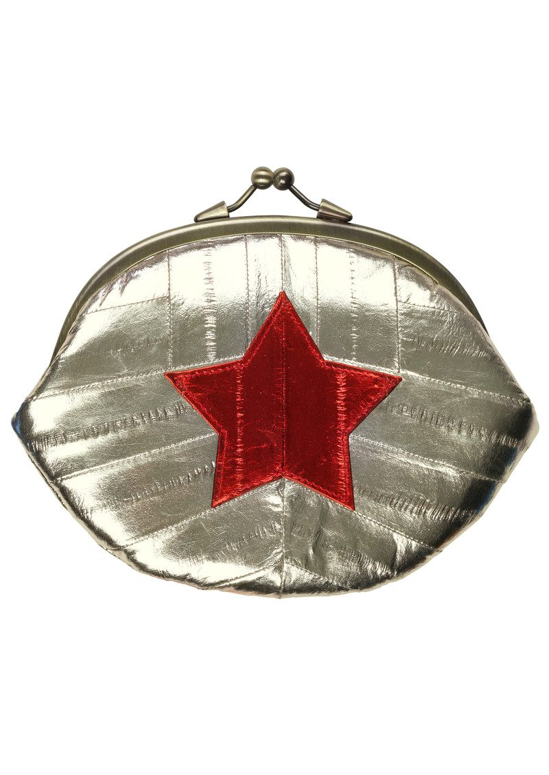 Granny Star Purse - Silver main image