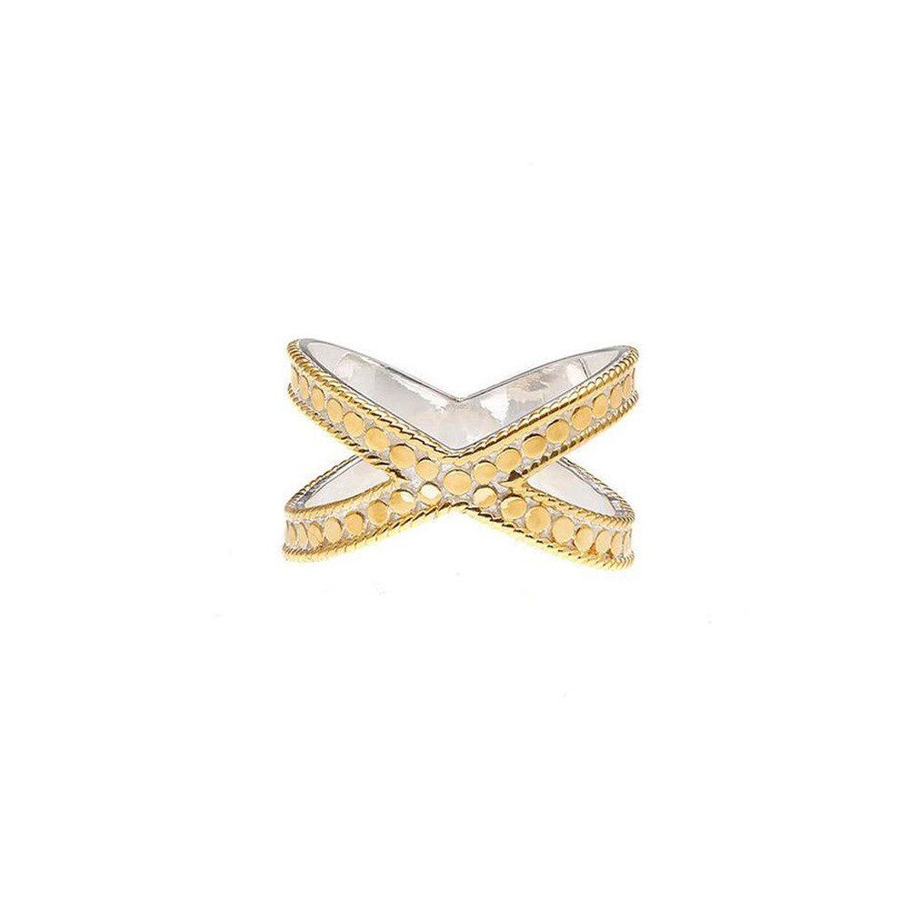 Cross Ring - Gold