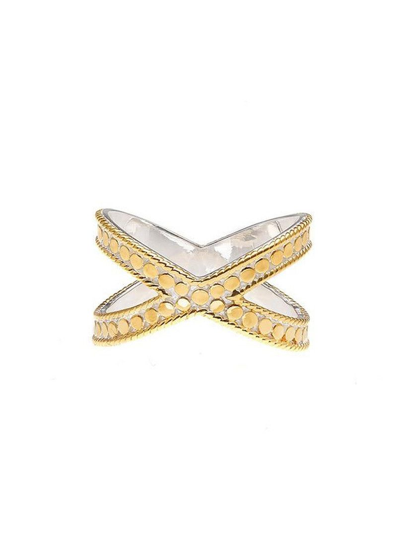 ANNA BECK Cross Ring - Gold main image