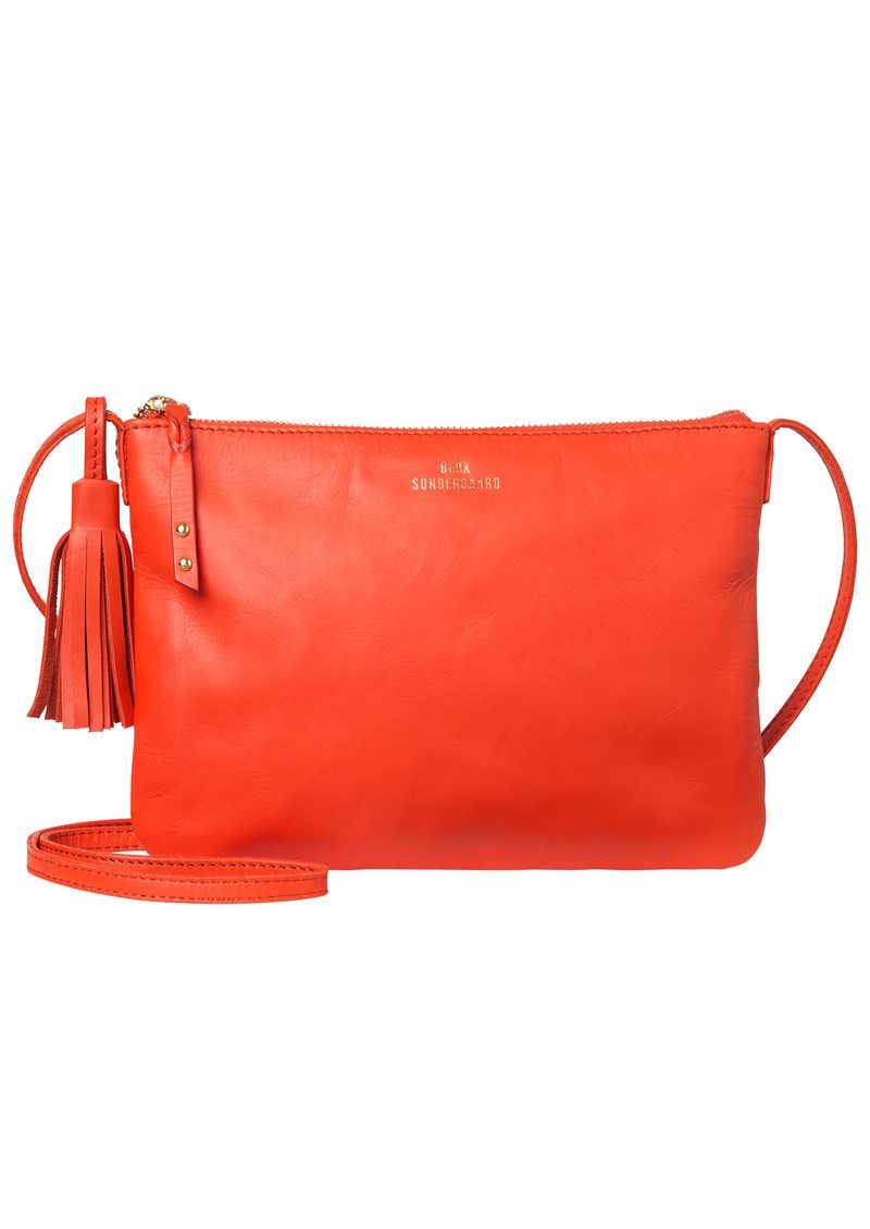 Lymbo Leather Bag - Cherry Tomato main image