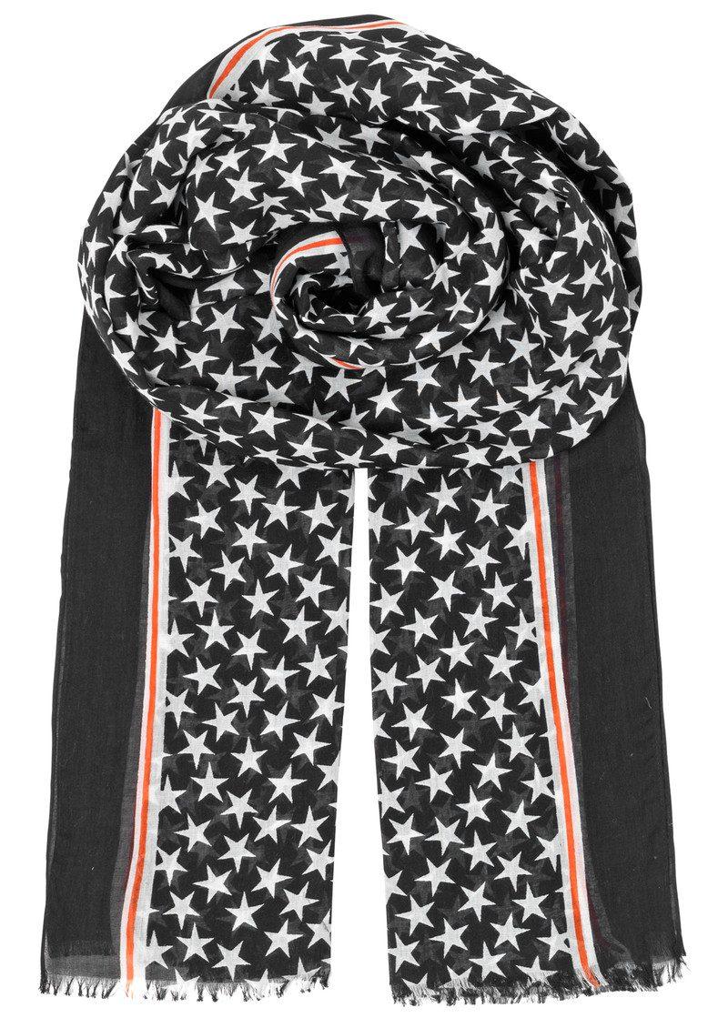 Becksondergaard Etoiles Cotton Star Scarf - Black main image