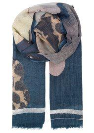 Becksondergaard Hole Wool Scarf - Majolica Blue