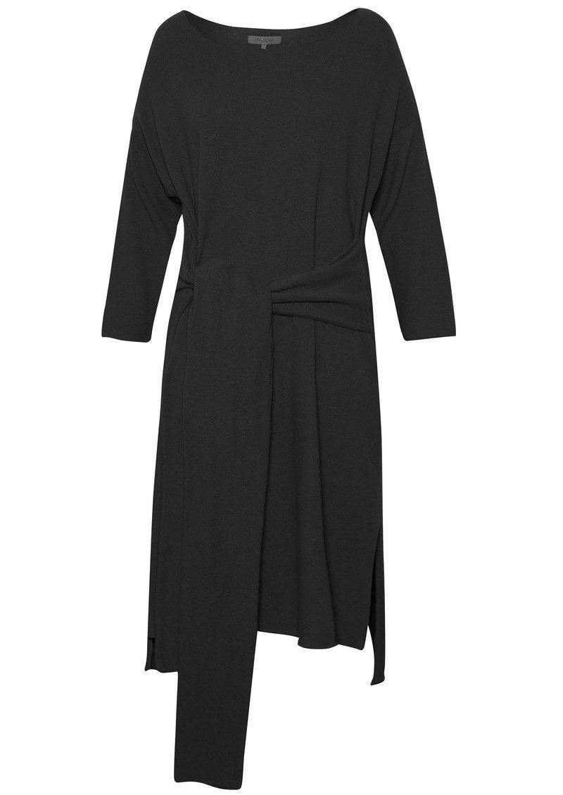 Great Plains Kitten Play Waist Tie Dress - Black main image