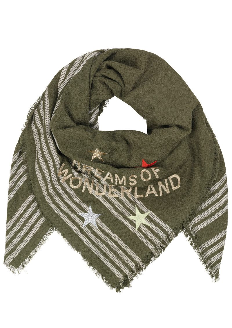 Becksondergaard Wonderland Cotton Scarf - Beech main image