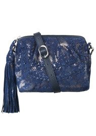 Becksondergaard Sherry Leather Bag - Medieval Blue
