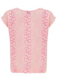 Mercy Delta Blair Python Top - Blush