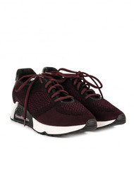Ash Lucky Knit Trainers - Black & Borolo