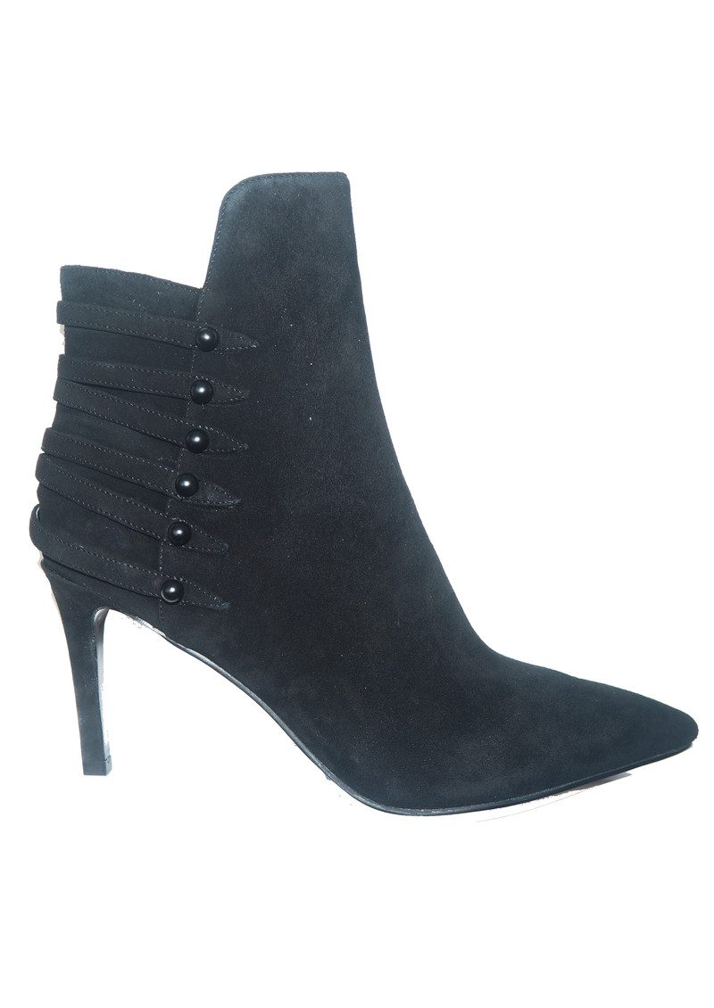 KENDALL & KYLIE Leah Suede Ankle Boot - Black main image