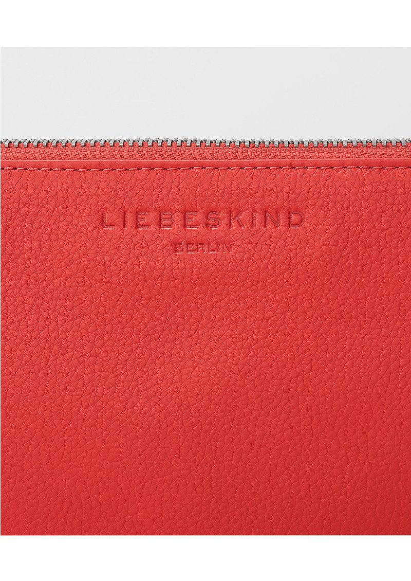Liebeskind Jenny H7 Leather Pouch - Striped Red main image