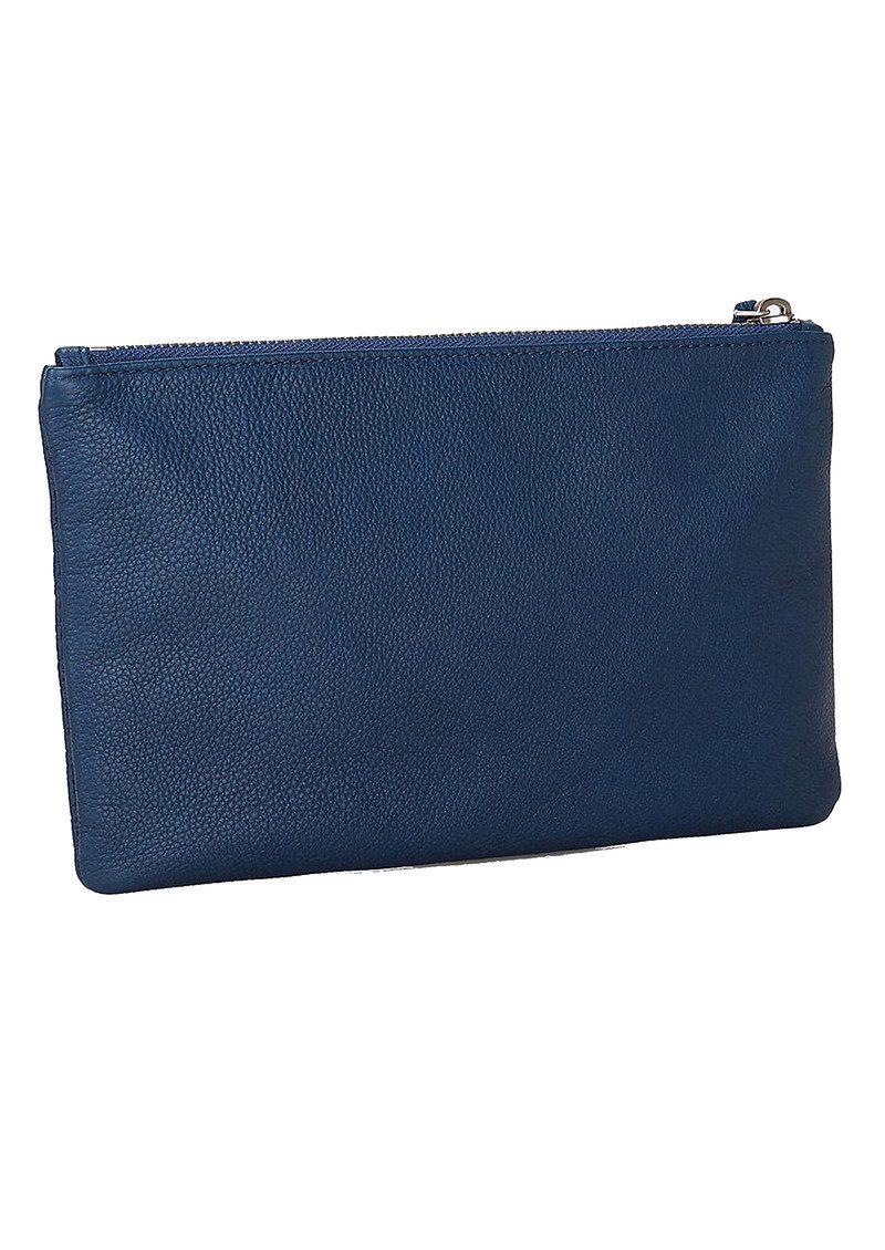 Liebeskind Jenny H7 Leather Pouch - Sky Blue main image