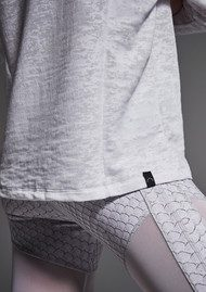 VARLEY Magnolia Camo Top - White