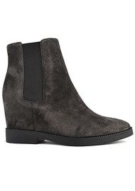 Ash Gong Suede Wedge Boot - Soft Bistro