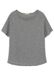American Vintage Sonoma Short Sleeve Top- Heather Grey