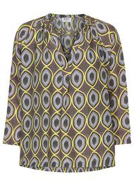 Day Birger et Mikkelsen  Day Oasis Printed Blouse - Lackey