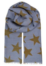 Becksondergaard Supersize Nova Scarf - Blue Shadow