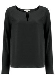 COOPER AND ELLA Selma Blouse - Black