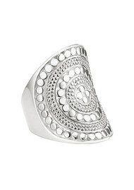 ANNA BECK Beaded Saddle Ring - Silver