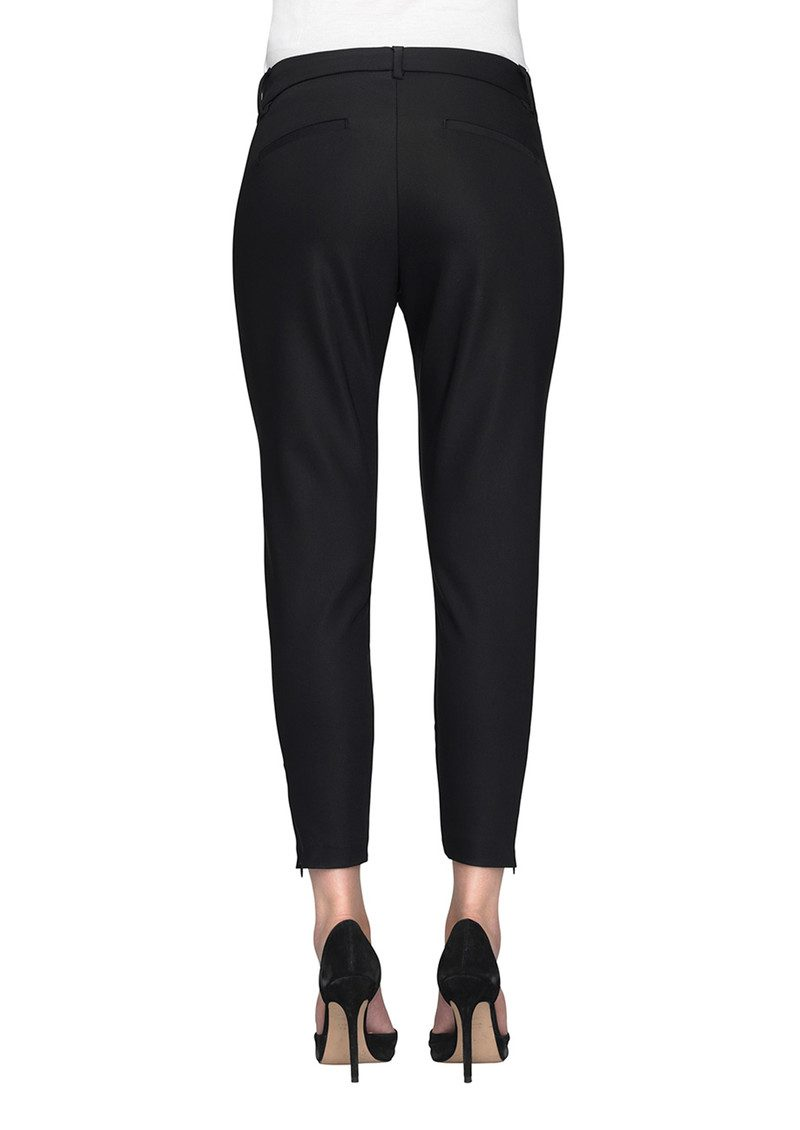 Angelie 238 Zip Jeggin Pants - Black main image