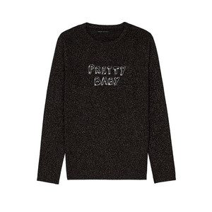 Bella Freud Sparkle Pretty Baby Jumper - Black & Gold