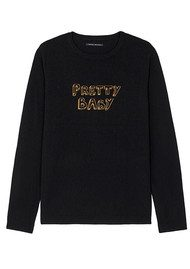 J Brand Bella Freud Pretty Baby Jumper - Black