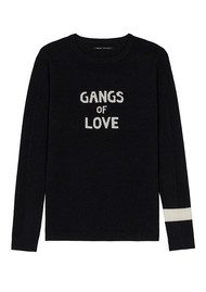 J Brand Bella Freud Gangs of Love Jumper - Black