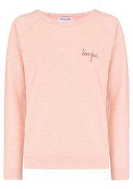 MAISON LABICHE Bonjour Sweater - Rose Chine