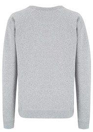 MAISON LABICHE Mega Love Sweater - Grey
