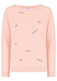 MAISON LABICHE Mega Love Sweater - Rose Chine