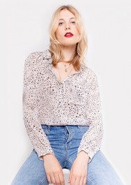 Lily and Lionel Daria Blouse - Celeste White