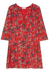 Ba&sh Eve Dress - Rouge