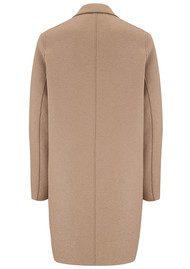 HARRIS WHARF Cocoon Wool Coat - Camel