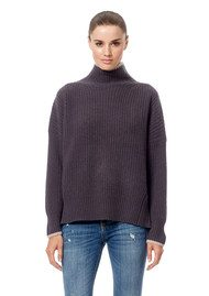 360 SWEATER Sasha Sweater - Cement & Rose Quartz