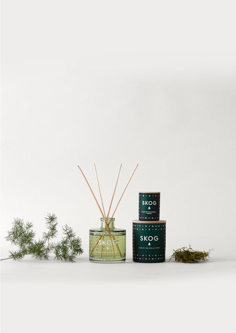 Mini Scented Candle - Skog main image