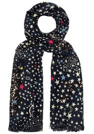Lily and Lionel Celeste Silk Star Scarf - Multi