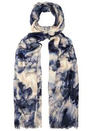 Lily and Lionel Pearl Silk Scarf - Pearl Blue