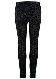 Paige Denim Hoxton High Rise Ultra Skinny Jeans - Metallic Leopard Noir