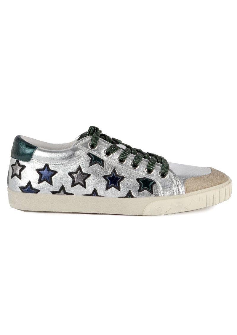 078de7eaf7aaa Ash Majestic Star Trainers - Silver & Emerald Green