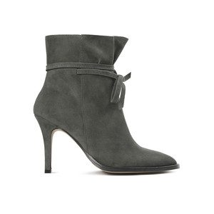 Sheena Suede Boot - Grey