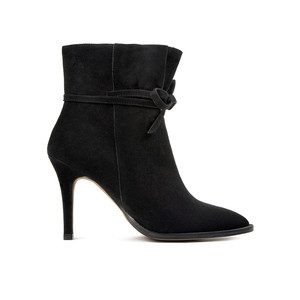 Sheena Suede boot - Black