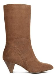 Hudson London Regina Suede Boot - Tan
