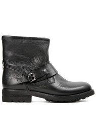Hudson London Mac Leather Boot - Black