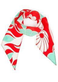 RIXO London Alexa Neckscarf - Abstract Oriental