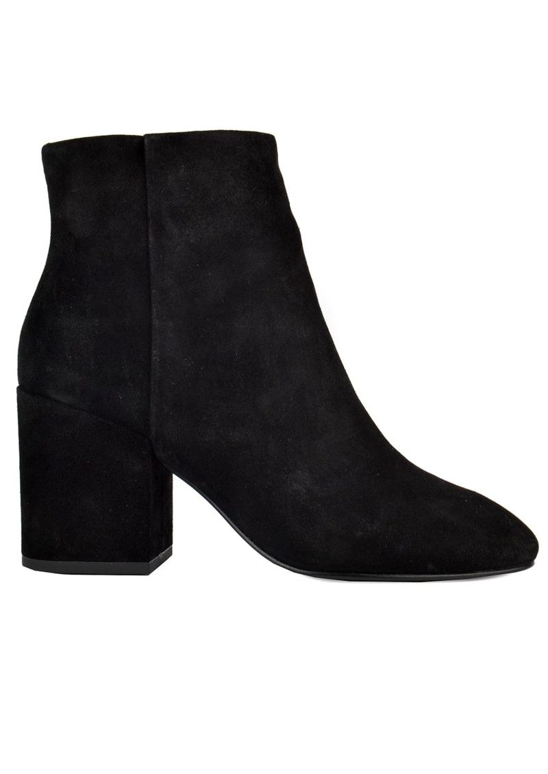 Ash Eden Suede Boots - Black main image