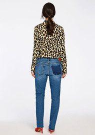 SAMSOE & SAMSOE Milly Shirt AOP - Leopard Jaune